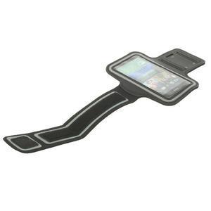 Černé Sports Gym pouzdo na ruku pro velikost mobilu až 150 x 70 mm - 5