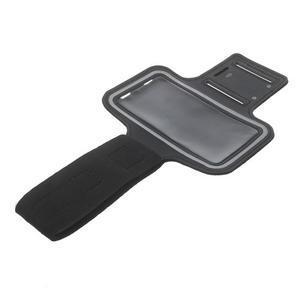 Fitsport pouzdro na ruku pro mobil do velikosti až 145 x 73 mm - černé - 5