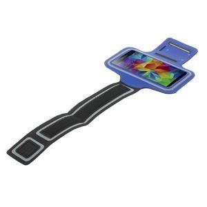Fitsport pouzdro na ruku pro mobil do velikosti až 145 x 73 mm - tmavěmodré - 5