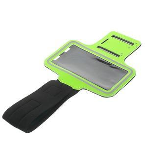 Fitsport pouzdro na ruku pro mobil do velikosti až 145 x 73 mm - zelené - 5