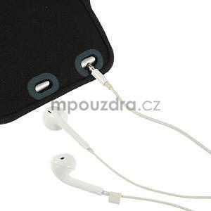 Soft pouzdro na mobil vhodné pro telefony do 160 x 85 mm - tmavě modré - 5