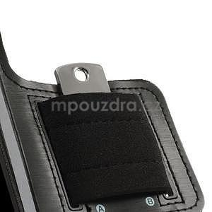 Run běžecké pouzdro na mobil do velikosti 131 x 65 mm - černé - 5