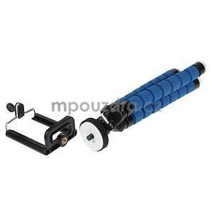 Trojnožkový stativ pro mobilní telefony - modrý - 5