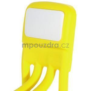 Tvarovatelný stojánek na mobil, žlutý - 5