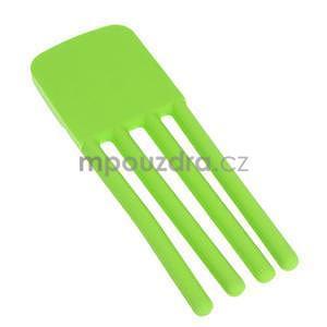 Tvarovatelný stojánek na mobil, zelený - 5