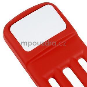 Tvarovatelný stojánek na mobil, červený - 5