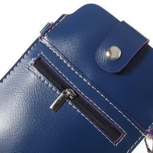 Univerzální pouzdro/kapsička na mobil do rozměru 180 x 110 mm - modré - 5