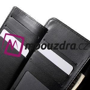 Luxusní univerzální pouzdro pro telefony do 140 x 70 x 12 mm - černé - 5