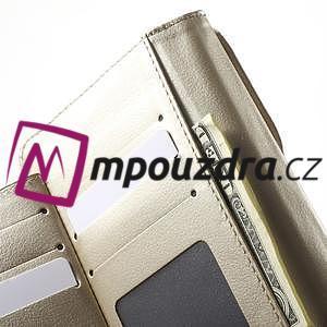 Luxusní univerzální pouzdro pro telefony do 140 x 70 x 12 mm - zlaté - 5