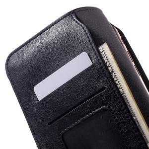 Peněženkové univerzální pouzdro na mobil do 140 x 68 x 10 mm - tmavěmodré - 5