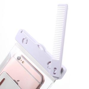 Nox7 vodotěsný obal na mobil do rozměru 16.5 x 9.5 cm - bílý - 5