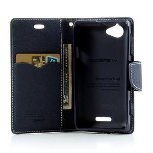 Mr. Fancy peněženkové pouzdro pro Sony Xperia L - zelené - 5
