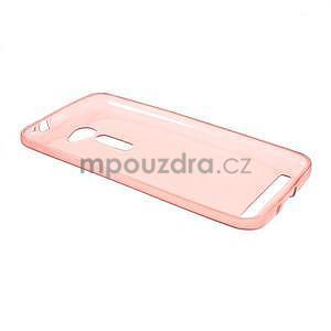 Ultra tenký slim gelový obal na Asus Zenfone 2 ZE500CL - červený - 5