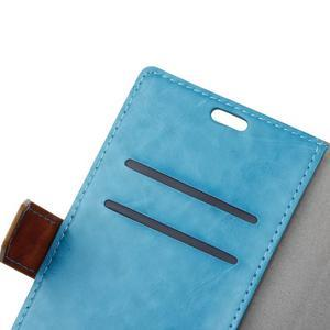 Colory knížkové pouzdro na Lenovo K5 Note - modré - 6