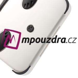 3D Silikonové pouzdro na iPad mini 2 - černá panda - 6