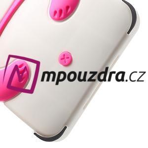3D Silikonové pouzdro na iPad mini 2 - růžová panda - 6