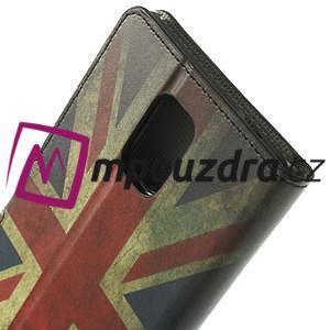 Peněženkové pouzdro na Samsung Galaxy Note 4- UK vlajka - 6