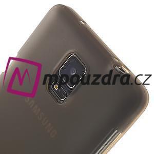 Gelové pouzdro na Samsung Galaxy Note 4- šedé - 6
