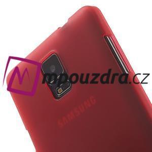 Gelové pouzdro na Samsung Galaxy Note 4- červené - 6
