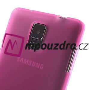 Gelové pouzdro na Samsung Galaxy Note 4- růžové - 6