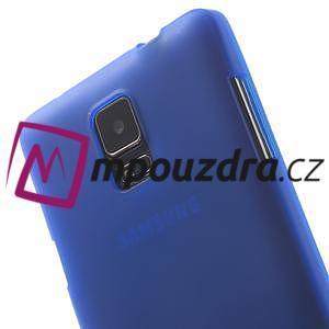 Gelové pouzdro na Samsung Galaxy Note 4- modré - 6