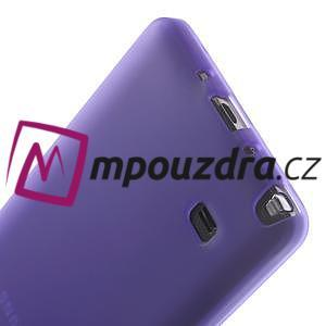 Gelové pouzdro na Samsung Galaxy Note 4- fialové - 6