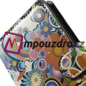Peněženkové pouzdro na Sony Xperia Z3 D6603 - barevné vzory - 6