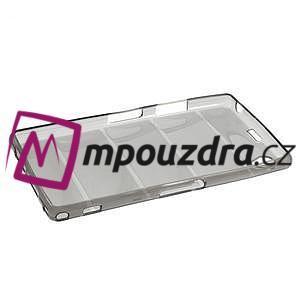 Gelové Body pouzdro na Sony Xperia Z1 C6903 - šedé - 6