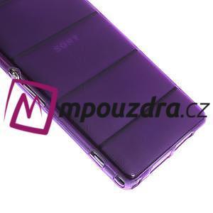 Gelové Body pouzdro na Sony Xperia Z1 C6903 - fialové - 6