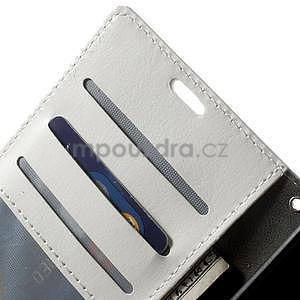 Peněženkové pouzdro na Nokia Lumia 830 - bílé - 6