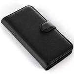 Peněženkové pouzdro na Alcatel One Touch Idol Alpha 6032 A - černé - 6/6