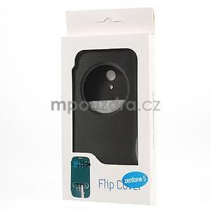 Flipové pouzdro na Asus Zenfone 5 - černé - 6