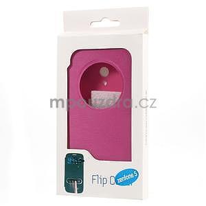 Flipové pouzdro na Asus Zenfone 5 - růžové - 6