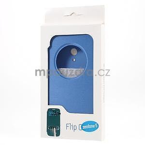 Flipové pouzdro na Asus Zenfone 5 - světlemodré - 6