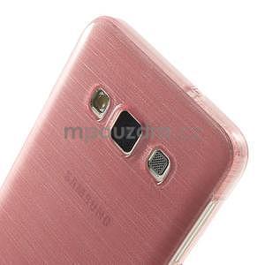 Broušené pouzdro na Samsung Galaxy A3 - růžová - 6