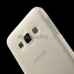 Broušené pouzdro na Samsung Galaxy A3 - bílá - 6