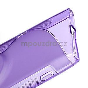 Gelové S-line pouzdro pro Nokia Lumia 1020- fialové - 6