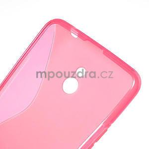 Gelové S-line pouzdro pro Nokia Lumia 1320- růžové - 6