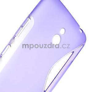 Gelové S-line pouzdro pro Nokia Lumia 1320- fialové - 6
