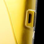Gelové S-line pouzdro na Nokia Lumia 520- transparentní - 6/6