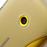 Gelové S-line pouzdro na Nokia Lumia 520- šedé - 6/7
