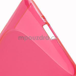 Gelové S-line pouzdro pro HTC Desire 600- červené - 6
