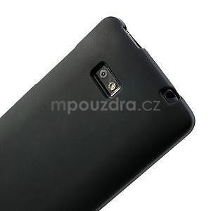 Gelové matné pouzdro pro HTC Desire 600- černé - 6