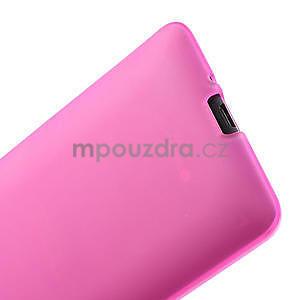 Gelové matné pouzdro pro HTC Desire 600- růžové - 6
