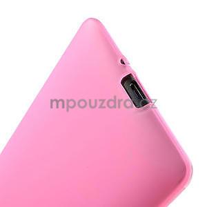 Gelové matné pouzdro pro HTC Desire 600- světlerůžové - 6