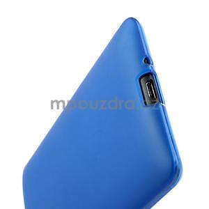 Gelové matné pouzdro pro HTC Desire 600- modré - 6