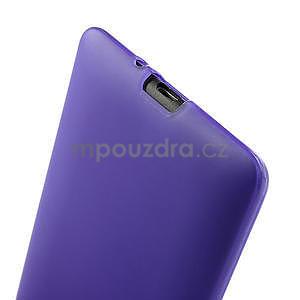 Gelové matné pouzdro pro HTC Desire 600- fialové - 6