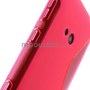 Gelové S-line pouzdro pro Nokia Lumia 625- růžové - 6