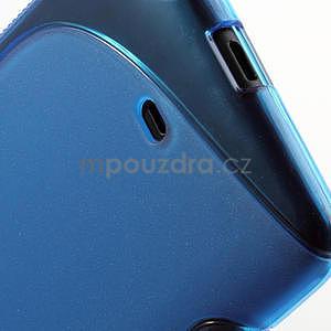 Gelové S-line pouzdro pro Nokia Lumia 625- modré - 6