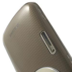 Gelové Ultraslim pouzdro na Samsung Galaxy K Zoom- šedé - 6